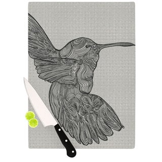 "Kess InHouse Belinda Gillies ""Hummingbird"" Cutting Board"