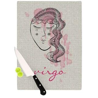 "Kess InHouse Belinda Gillies ""Virgo"" Cutting Board"