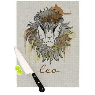 "Kess InHouse Belinda Gillies ""Leo"" Cutting Board"