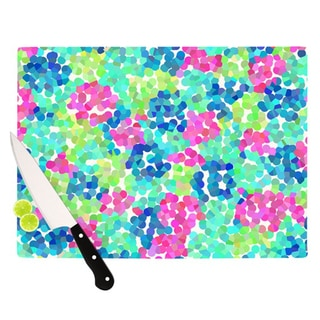 "Kess InHouse Beth Engel ""Flower Garden"" Cutting Board"