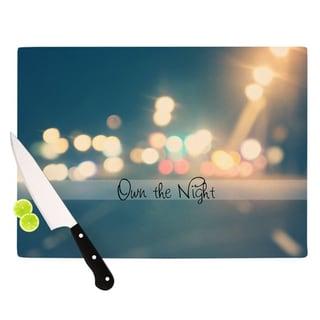"""Kess InHouse Beth Engel """"Own The Night"""" Cutting Board"""