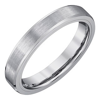Men's 4-millimeter Tungsten Carbide Wedding Band by Ever One