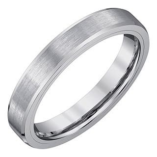 Men's 4-millimeter Tungsten Carbide Fashion/Wedding Band by Ever One|https://ak1.ostkcdn.com/images/products/13153019/P19879807.jpg?impolicy=medium