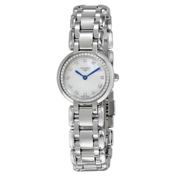 Longines Women's L81090876 'PrimaLuna' Diamond Stainless Steel Watch. Opens flyout.