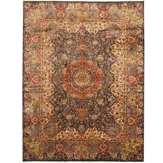 Herat Oriental Persian Hand-knotted Tribal Kashmar Wool Rug (9'7 x 12'10)