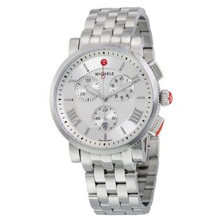 Michele Women's MWW01K000102 'Sport Sail Large' Chronograph Stainless Steel Watch