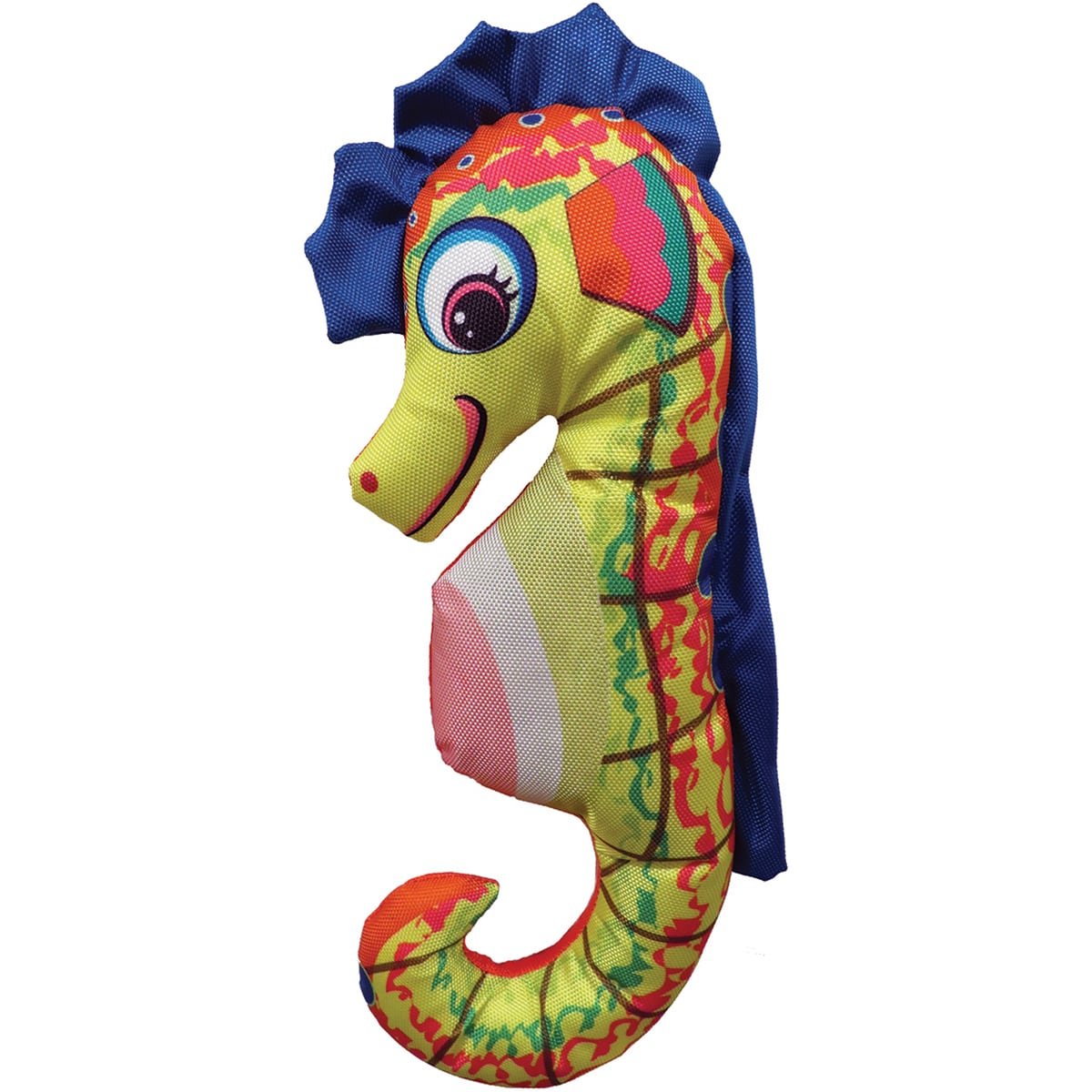 "Plush Suzy Sea Horse Dog Toy 17"" (Dog Toys), Multi"
