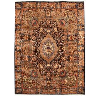 Herat Oriental Persian Hand-knotted Tribal Kashmar Wool Rug (9'6 x 12'7)