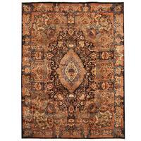 Herat Oriental Persian Hand-knotted Tribal Kashmar Wool Rug (9'6 x 12'7) - 9'6 x 12'7