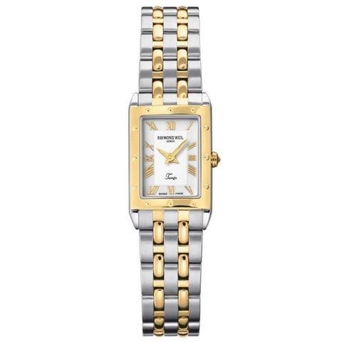 Raymond Weil Women's 5971-STP-00308 'Tango' Two-Tone Stainless Steel Watch