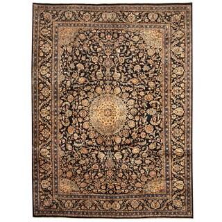 Herat Oriental Persian Hand-knotted Tribal Kashmar Wool Rug (9'6 x 13')