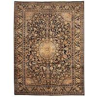 Handmade Herat Oriental Persian Tribal Kashmar Wool Rug  - 9'6 x 13' (Iran)