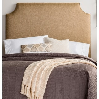 Humble + Haute Raleigh Tall Full Size Golden Brown Upholstered Headboard