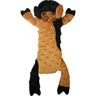 Skinneeez Extreme Stuffing Cow Free Dog Toy 14""