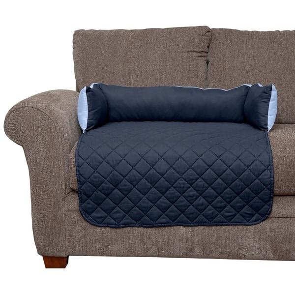 Marvelous Shop Furhaven Sofa Buddy Pet Bed Furniture Cover Free Machost Co Dining Chair Design Ideas Machostcouk
