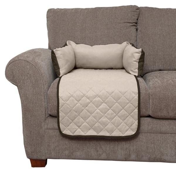 Enjoyable Shop Furhaven Sofa Buddy Pet Bed Furniture Cover Free Machost Co Dining Chair Design Ideas Machostcouk