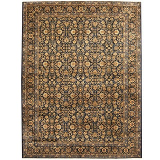Herat Oriental Persian Hand-knotted Tribal Kashan Wool Rug (9'10 x 13')