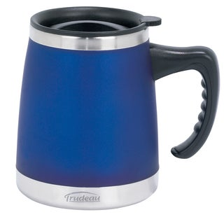 Trudeau 088221 Umbria Design Blue Desk Mug