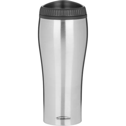 Trudeau 0871236 16 Oz Stainless Steel Travel Tumbler