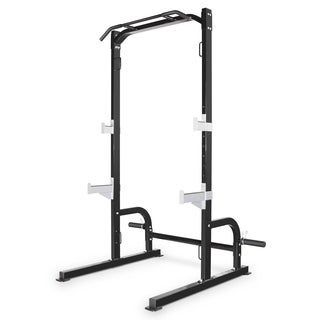 Marcy Black Metal Half Cage Exercise Set