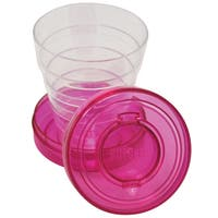 Sprayco 800334 Microban Travel Cup With Pillcase