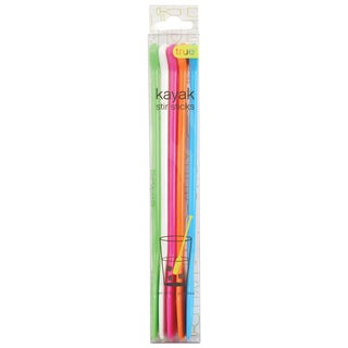 True 2454 Kayak Stir Sticks Assorted Colors 5 Count