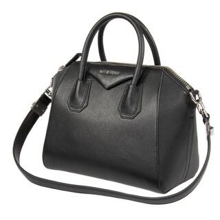 Givenchy Antigona Small Matte Black Satchel Handbag