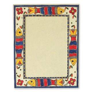 Indian Ocean Madhubani 5x7 Photo Frame (India)