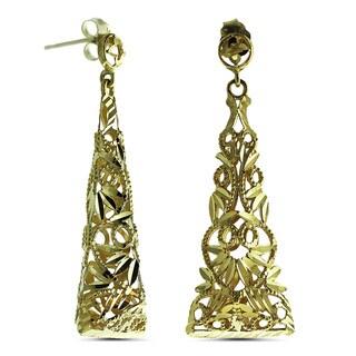 Marc & Ivy 14k Filigree Dangle Earrings