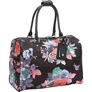 Guess Fortuna Collection Black 18-inch Carry-on Travel Tote Bag