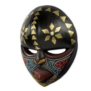 Barowa African Wood Mask (West Africa)