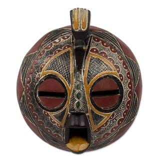 Victory Dove African Wood Mask (West Africa)