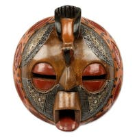Bird of Happiness African Wood Mask (West Africa)
