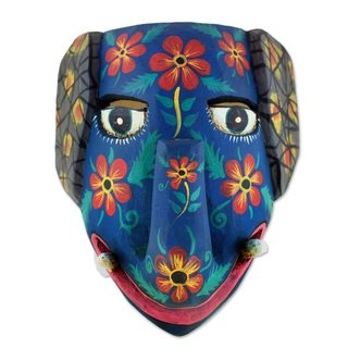 Central American Mammoth Wood Mask (Central America)