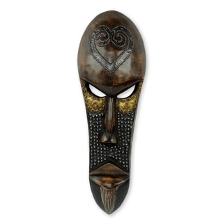 Love Star African Wood Mask (West Africa)
