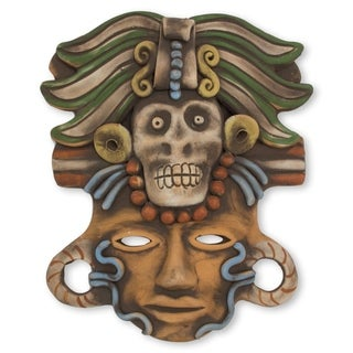 Death Cult Priest Ceramic Mask (Mexico)