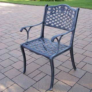 Queen Camellia Cast Aluminum Dining Chair