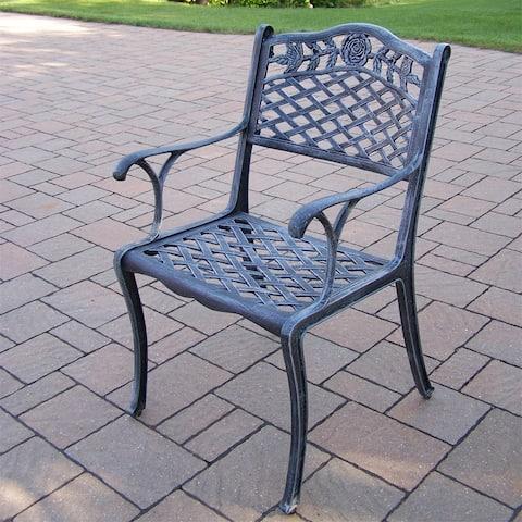Queen Camellia Cast Aluminum Dining Chair