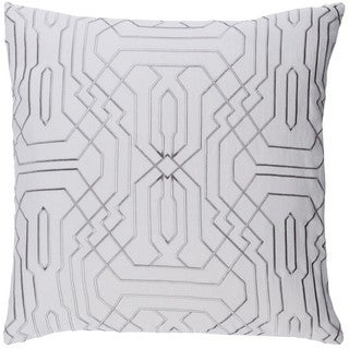 Decorative Stone 22-inch Down or Poly Filled Throw Pillow