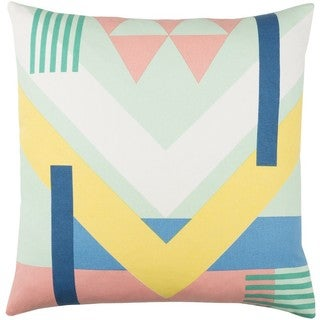 Decorative Wadhurst 20-inch Down or Poly Filled Throw Pillow