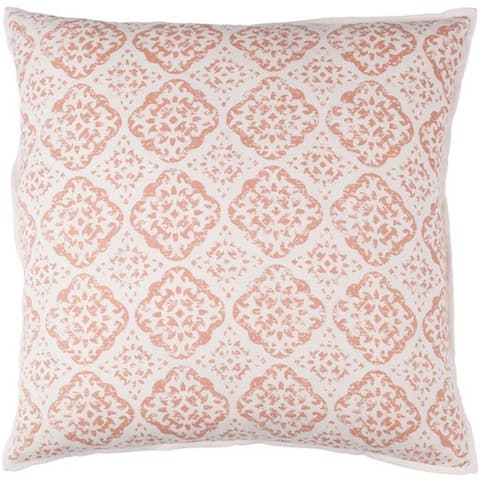 Decorative Villeurbanne 20-inch Feather Down or Poly Filled Throw Pillow