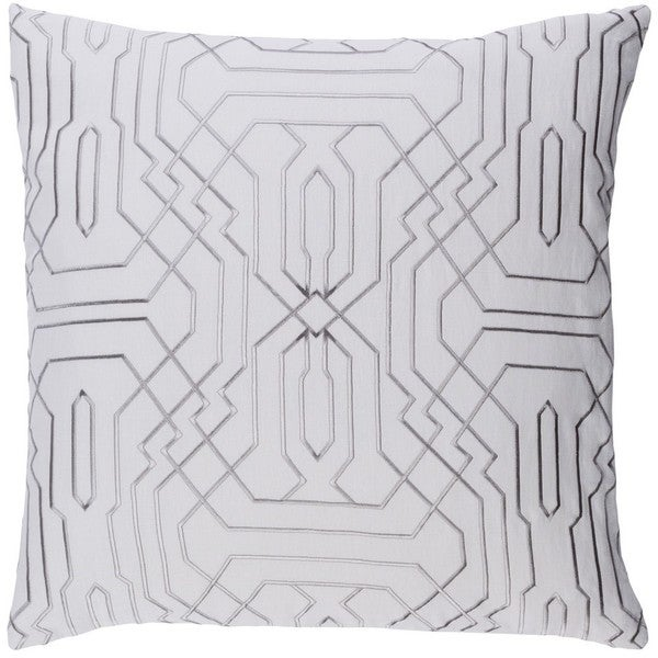 Decorative Stone 20-inch Down or Poly Filled Throw Pillow