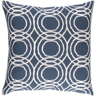 Decorative Steyning 20-inch Down or Poly Filled Throw Pillow