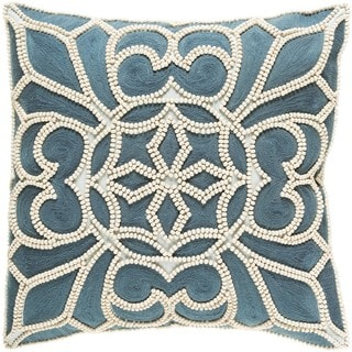 Decorative Soham 20-inch Down or Poly Filled Throw Pillow