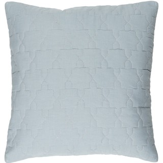 Decorative Wigan 18-inch Feather Down or Poly Filled Throw Pillow