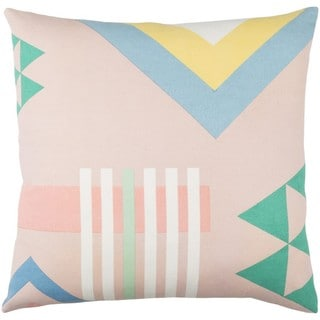 Decorative Wallingford 18-inch Feather Down or Poly Filled Throw Pillow