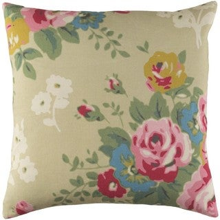 Decorative Ventura 18-inch Down or Poly Filled Throw Pillow