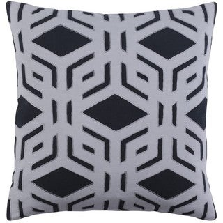 Decorative Stanhope 18-inch Down or Poly Filled Throw Pillow
