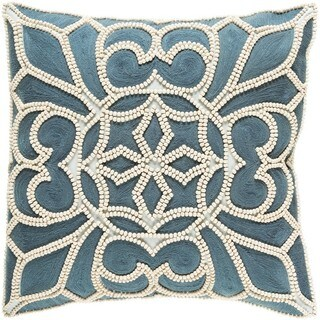 Decorative Soham 18-inch Down or Poly Filled Throw Pillow
