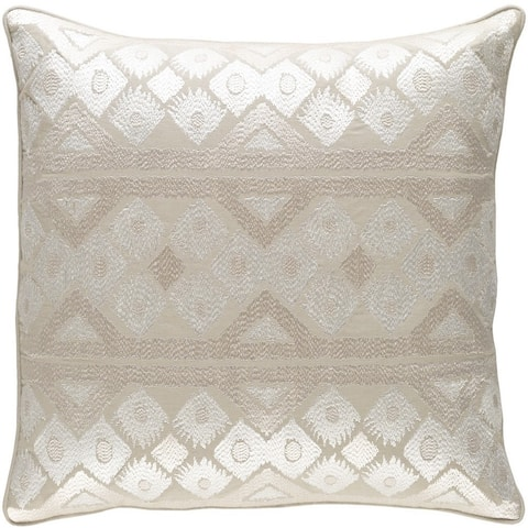 Decorative Sigatoka 18-inch Feather Down or Poly Filled Throw Pillow